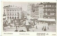 London Postcard - Old London - Piccadilly Circus   U847