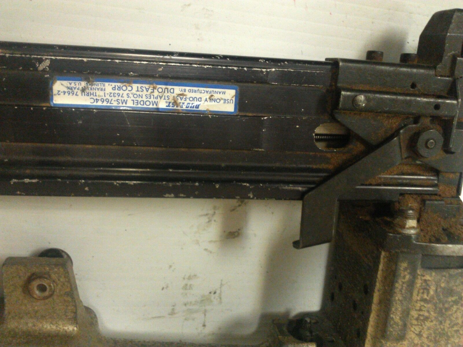 USED HOUSING FOR FOR FOR DUOFAST MS-7664C SP-312 STAPELR-ENTIRE PICTURE NOT FOR SALE da8522