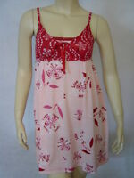 Scanty First Love Red & Pink Sweetheart Chemise S