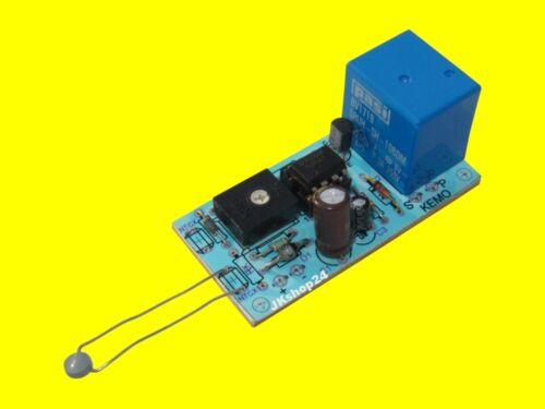 Kemo temperatura interruttore 12 V//DC TERMOSTATO-bausatztemperature switch 12 volts//DC