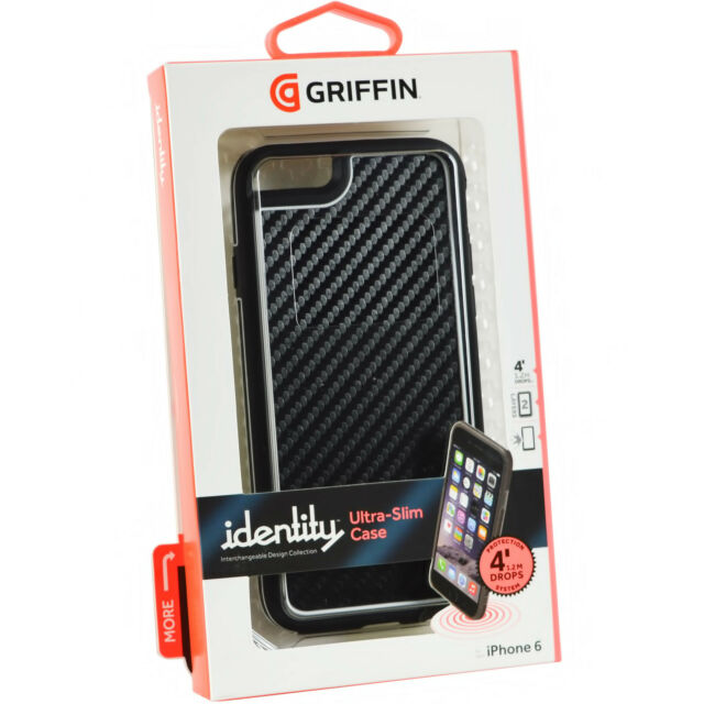 official photos deb93 6242f Griffin Identity Graphite Case for Apple iPhone 6 6s