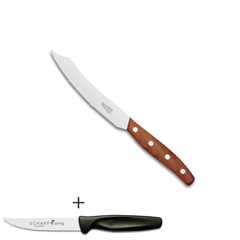 Les moulins à vent Couteau Sabre pointu Couteau à beurre prune + perspicace Pizza-couteau à viande
