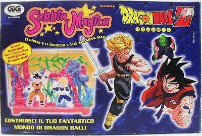Dragon Ball Z SABBIA MAGICA costruisci il tuo fantastico mondo di DRAGON BALL