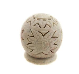 Fat Candle Tealight IN Stone The Sun Peterandclo India 8883