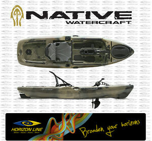 Details about Native Watercraft Slayer 10 Propel Pedal Drive Fishing Kayak