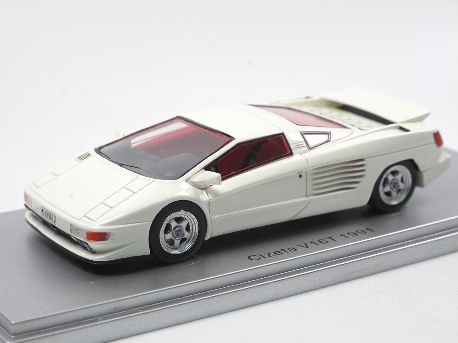 Kess modellen ke43048001 1991 cizeta v16t weißen 1   43 limited edition neuheit