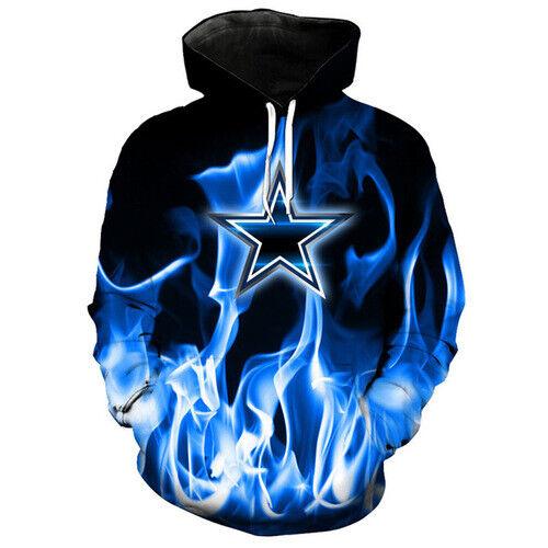 Hot Sale 3D Print Dallas Cowboys Harajuku Women Men Hoodies Pullover Sweatshirts