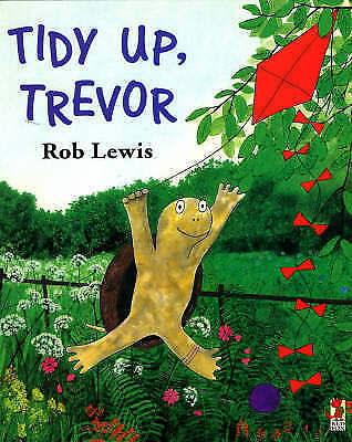 Tidy Up Trevor (Red Fox Picture Books), Lewis, Rob, Good Book