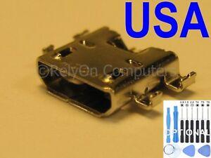 2x Micro USB Charging Port For Asus Google NEXUS 7 FHD 2nd Gen 2013 ME571K K008