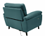 EX DISPLAY - Argos Home Elliot Faux Leather Power Reclining Armchair - Teal