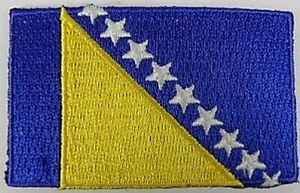 Bosnien-und-Herzegowina-Aufnaeher-gestickt-Flagge-Fahne-Patch-Aufbuegler-6-5cm-neu
