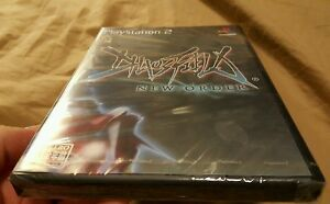 Brand-New-CHAOSFIELD-NEW-ORDER-PS2-Japan-LIKE-Raiden-GRADIUS-R-Type-Ibara-etc