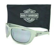 NEW Harley Davidson Men/'s Wrap Sunglasses HD0653S 91A 62mm Navy Grey AUTHENTIC