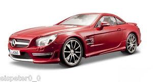 Mercedes-Benz-SL-63-AMG-Toit-Rigide-Maisto-Auto-Modele-1-18
