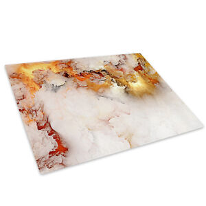 Retro-White-Marble-Glass-Chopping-Board-Kitchen-Worktop-Saver-Protector