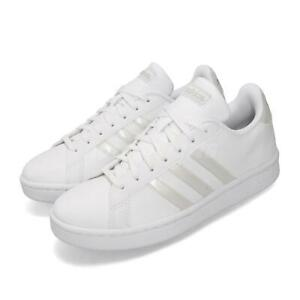 Adidas Grand Court White Grey Women Casual Lifestyle Sh