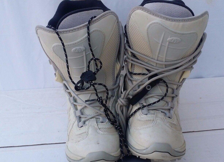 Northwave Snowboard Boots Unisex Beige Size Men 7.5 (Women 8.5)