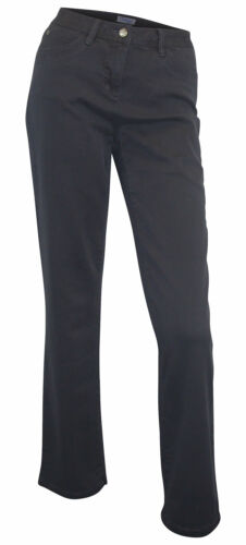 JEANS Corley breve dimensione 18 19 20 23 ANTRACITE stretchjeans gamba dritta