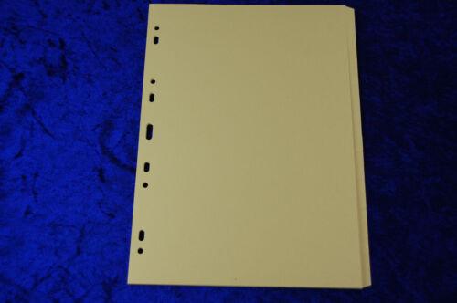 Ordner-Register Register 1-20 20tlg A4 blanko gelb Manila Karton Ordnerregister