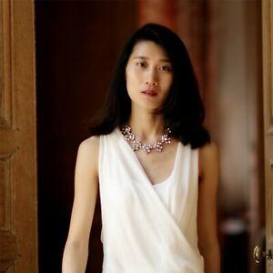 Necklace-Art-Deco-Triangle-Crystal-Retro-Modern-Original-Marriage-Jcr-5
