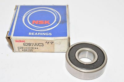 NSK 6001DDUC3 Single Row Deep Groove Rubber Sealed Bearing 12mm ID