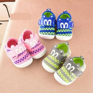 Infant-Kid-Baby-Boy-Girl-Cartoon-Star-Rabbit-Ears-Squeaky-Single-Shoes-Sneaker-F