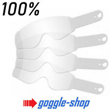 GOGGLE-SHOP MOTOCROSS GOGGLE TEAR-OFFS to fit 100% RACECRAFT / ACCURI / STRATA