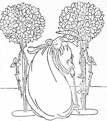 Vintage Visage hierro en la transferencia de bordado-crinolina Dama Art Nouveau 2 Hojas