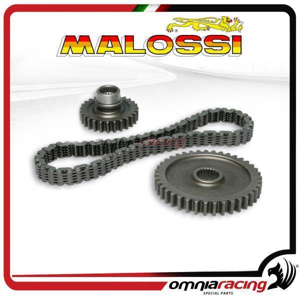 Malossi kit transmisión catena, corona e pignone per Yamaha Tmax 500 2001>2011