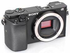 Sony Alpha 6000 ILCE-6000 schwarz 24MP Systemkamera Gehäuse Body NEU vom Händler