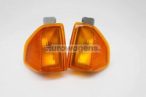 Ford-Escort-MK3-80-85-Orange-Clignotants-avant-Repeteur-Paire-Set-Gauche-Droit