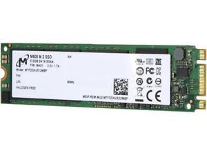 Micron M.2 2280 512GB SATA III MLC