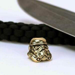 Image Is Loading 1pc Paracord Bead Metal Charm Trooper Bracelet