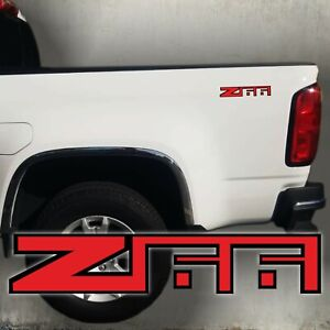 Z66 stickers decal red and black,  chevy  (Set)