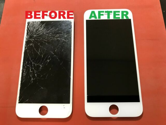 cheap for discount 894a3 240bf iPhone 7 Plus Cracked Glass Broken Screen Repair Service OEM