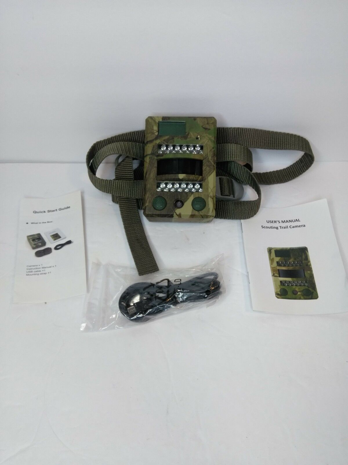 Scouting Security Trail  Camera
