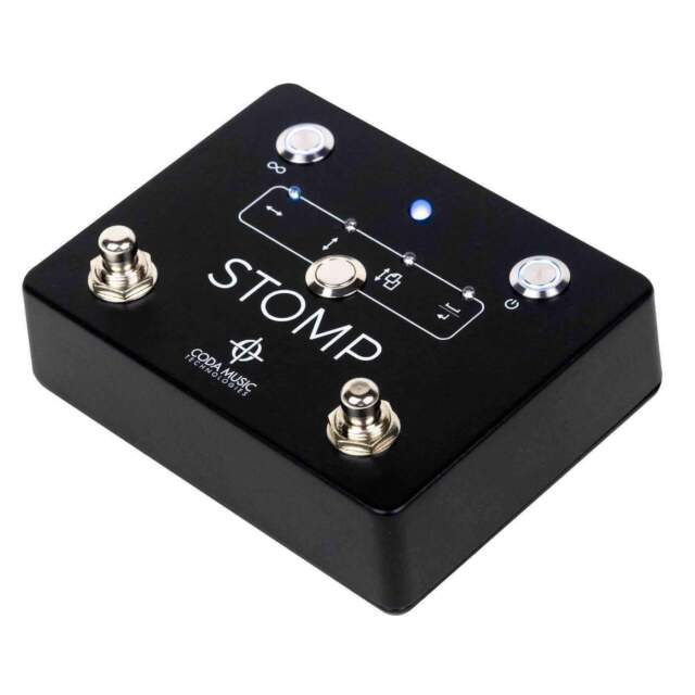 STOMP Bluetooth® 4.0 Page Turner Pedal & App Controller for Tablets