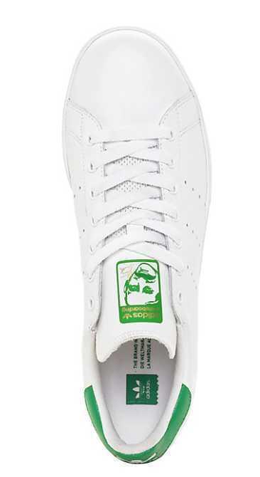NEW uomo US 4 6.5 9 9 9 12 ADIDAS STAN SMITH VULC bianca verde SKATE scarpe B49618 3be0ba