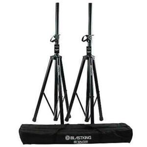 BLASTKING SPS350SSK Steel Tripod Speaker Stand Pack with Zippered Bag Canada Preview