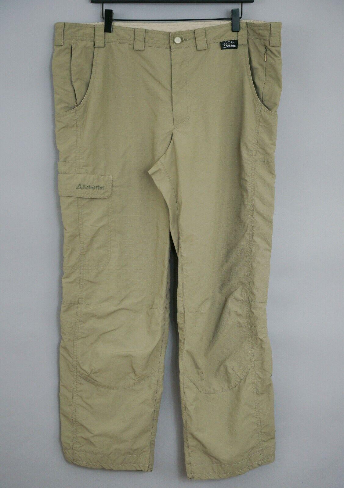 Men Schoffel ACF Trousers Outdoor Hiking Camping 54 W40 L30 JFA830