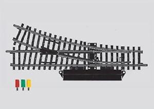 Marklin-H0-2263-voie-k-aiguillage-a-droite-electrique-NEUF