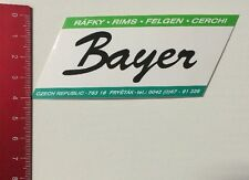 Aufkleber/Sticker: Bayer - Czech Republic - Ráfky Rims Felgen Cerchi (160316105)