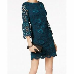 f784d5b6 Jessica Howard Bell Sleeve Lace Sheath Size 14 #B535 $89.00 | eBay