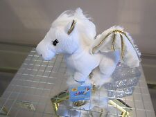 WEBKINZ GOLDEN PEGASUS NEW! SEALED TAG & CODE! RARE! +FREE CANADA GIFT! AWESOME!