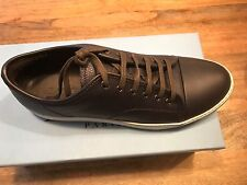 LANVIN  LEATHER SNEAKERS SIZE 8 UK/9 US.....New in box