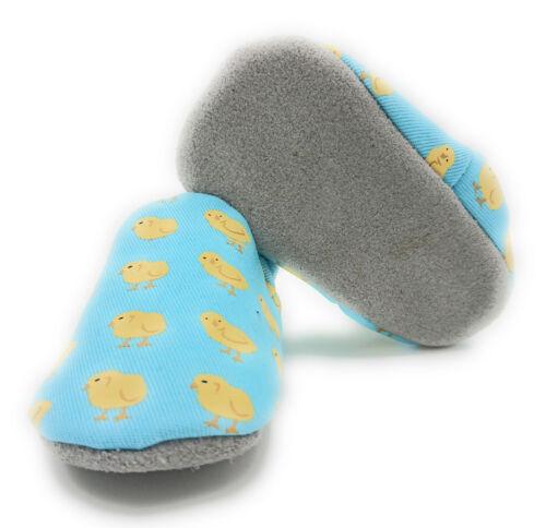 Lauflernschuhe Krabbelschuhe Lederpuschen mit echter Wildledersohle Babyschuhe