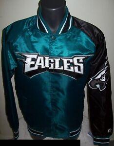 Image is loading PHILADEPHIA-EAGLES-NFL-STARTER-Snap-Down-Jacket-Sping- 1b84b4c84