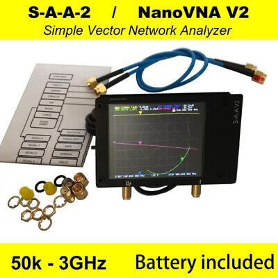 NanoVNA V2 50kHz-3GHz Vector Network Analyzer Antenne Analyzer VNA HF VHF UHF