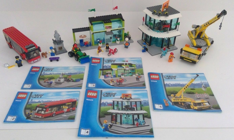 LEGO ® 60026 Stadtzentrum Marktplat city centre town square Gebraucht pre-owned