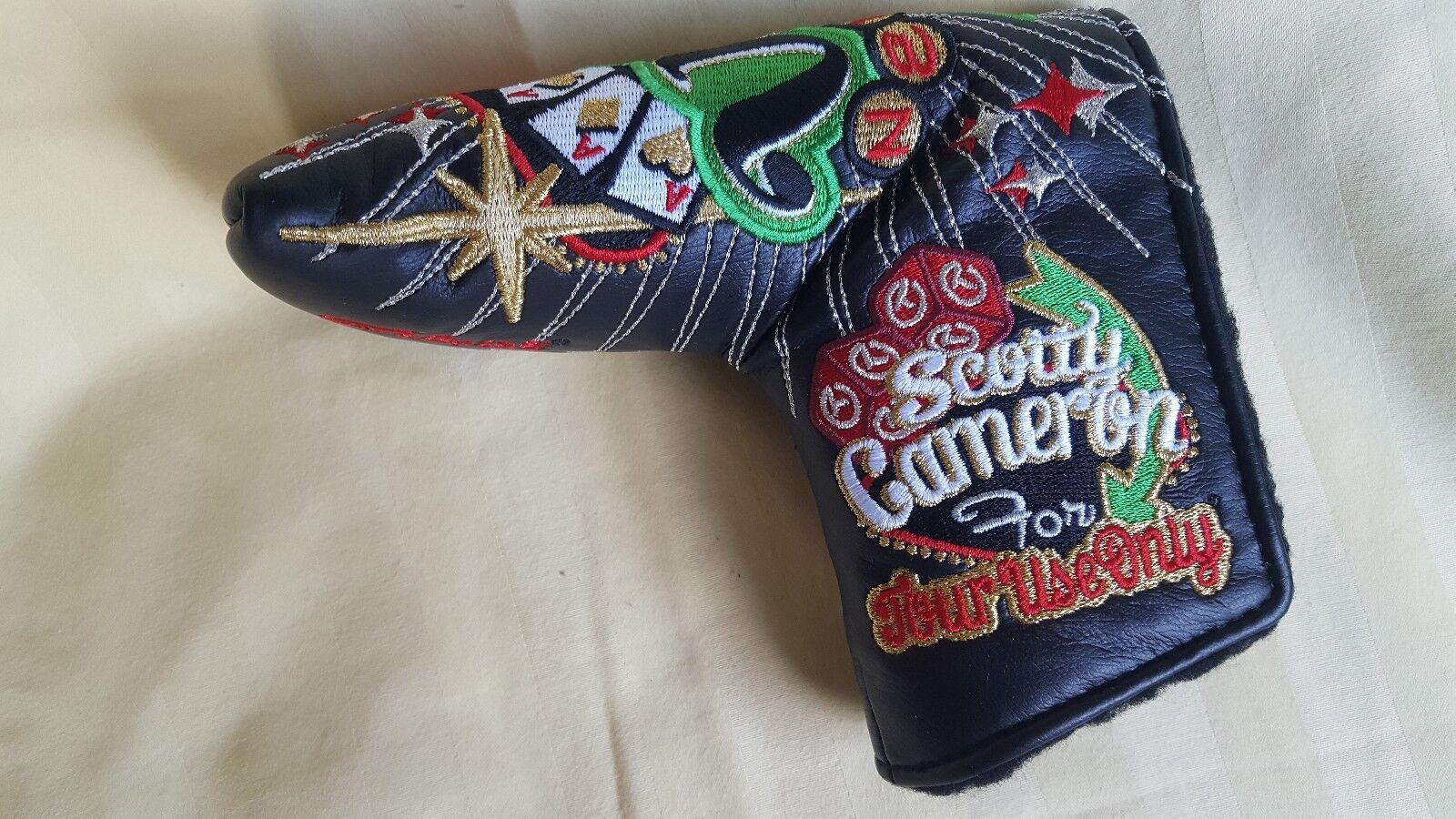 Putter headcover Scotty Cameron Colección Rara Circle T